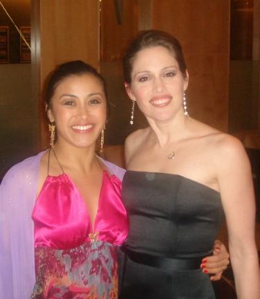 Jennifer Trijo with Amanda Harrison
